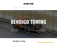 Bendigo Towing website screenshot