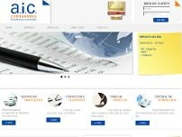 AIC Contadoria Ltda website screenshot