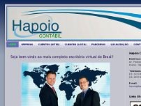 Hapoio Assessoria Contábil Ltda website screenshot