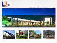 LK2 Construtora Ltda website screenshot
