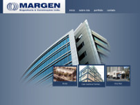 Margen Engenharia S/C Ltda website screenshot