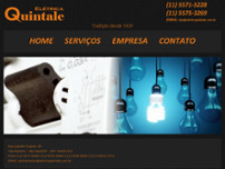 Eletro Técnica Quintale website screenshot