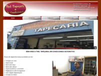 Thel Tapeçaria website screenshot