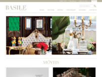 Galeria Basile website screenshot