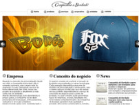 Cia do Bordado Ltda website screenshot