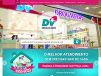 Drogaverde website screenshot