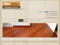 FlexPiso Raspagem de Tacos e Assoalhos website screenshot