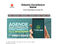 Odonto Excellence website screenshot