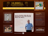 Hubbell Designer Goldsmiths website screenshot