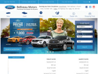 Belliveau Motors website screenshot