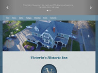 Victoria's Historic Inn website screenshot