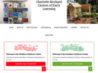 Greenboro Children's Centre website screenshot