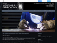 Dan's Welding & Fabricating website screenshot