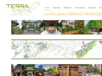 Terra Vista Landscape Construction website screenshot