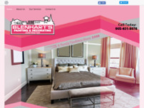 Blenhart Painting & Decorating website screenshot