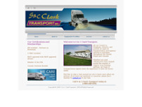 S & C Clark Transport website screenshot