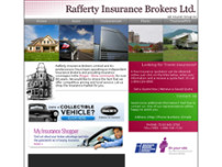 Rafferty Insurance Brokers Ltd website screenshot
