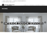Irvine Robinson Interiors Co Ltd website screenshot