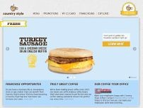 Country Style Donuts website screenshot