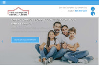 Village Square Dental Centre website screenshot
