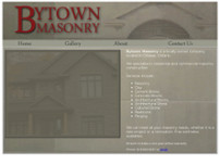 Bytown Masonry website screenshot
