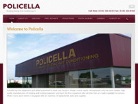 Policella Plumbing Heating & Air Conditioning Ltd website screenshot