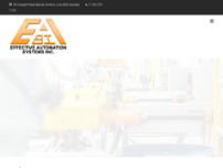 Effective Automation Systems Inc website screenshot