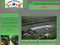 Les Serres Vaudreuil Inc website screenshot