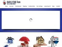 Walsh and Volk Remax Real Estate website screenshot