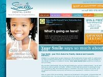 Your Smile Dental Care website screenshot