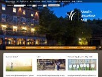 The Wakefield Mill Hotel and Spa website screenshot