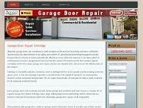 Garage Door Repair Uxbridge website screenshot