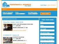 Thornhill Homes For Sale website screenshot