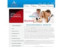 Acme Accounting Solutions Inc. website screenshot