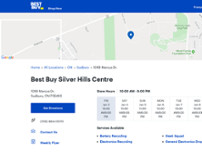 Best Buy website screenshot