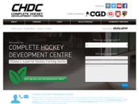 Complete Hockey Development Centre website screenshot
