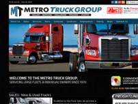 Metro Freightliner Brantford website screenshot