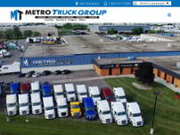 Metro Freightliner Milton website screenshot