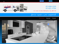 Luc Jacques Services website screenshot
