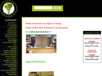 Hydrotech Hydroponics Limited website screenshot