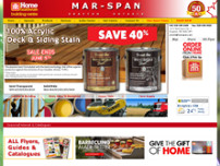 Mar-Span Home Hardware Building Centre website screenshot