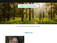Forest View Kennels website screenshot