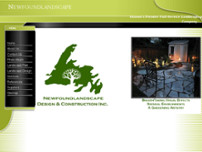 Newfoundlandscape Design & Construction Inc website screenshot