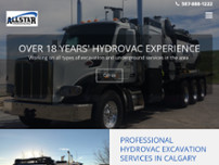 Allstar Hydrovacing website screenshot