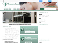 Therapy Plus website screenshot