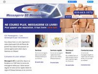 Messagerie G S Messenger website screenshot