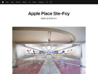 Apple Place Ste-Foy website screenshot