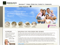 J P Uniac Insurance Broker Ltd website screenshot