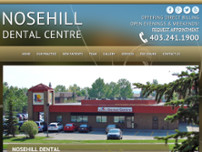Nosehill Dental Centre website screenshot