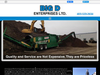 Big D Enterprises Ltd website screenshot